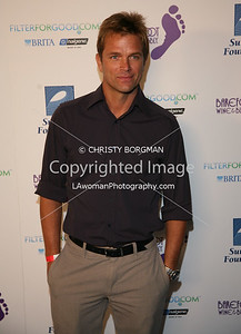 David Chokachi arrives at the Surfrider Foundation's 25th Anniversary Gala on Ocotber 9, 2009 at the California Science Center's Wallis Annenberg Building.