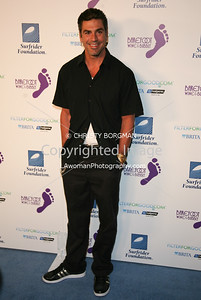 Eric Etebari arrives at the Surfrider Foundation's 25th Anniversary Gala on Ocotber 9, 2009 at the California Science Center's Wallis Annenberg Building.