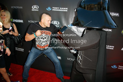 Chuck Liddell and Legoland's Darth Vader