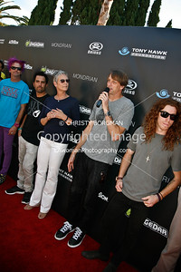 Kevin Staab, Rooftop, Jamie Lee Curtis, Tony Hawk and Shaun White