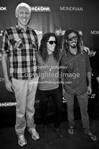 Bill Walton, Shaun White and Rob Machado