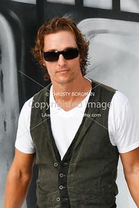 Matthew McConaughey at Cirque Du Soleil's opening of IRIS. 9/25/11