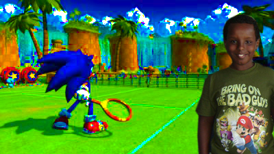 I like to play video games like Sonic Riders and Mario Party 8.I am a big fan of Mario and Sonic.I hope that I can get all of their games.