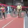 Jerry Lane of Sycamore walks Saturday morning as part of Walk a Mile in Her Shoes at the Northern Illinois University Convocation Center.