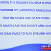 Eric Bonzar—The Morning Journal<br> Lake Erie Shores & Islands' new mission statement is unveiled during the third annual State of Tourism Address, held at Kalahari, April 5, 2018.