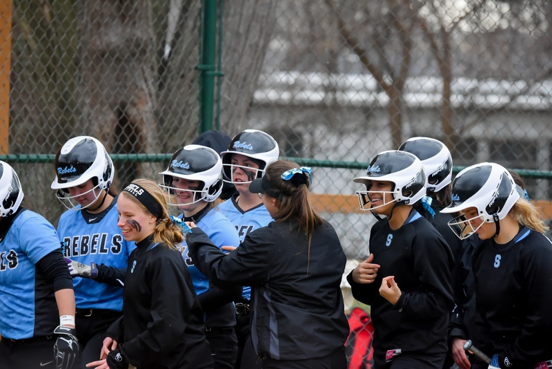 . Mike Payne- The News-Herald Photos from the South vs. Chardon softball game on April 9, 2018.