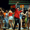 Bob Raines--Digital First Media<br /> Usnavi (Jeffrey Pfeiffer), bodega owner who sold the winning lottery ticket, and the residents of the barrio dream of what they would do if they had won the prize money.
