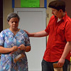 Bob Raines--Digital First Media<br /> Usnavi (Jeffrey Pfeiffer) asks Abuela Claudia (Madison Spray) if she feels all right, not yet knowing she holds the winning lottery ticket and that she is puzzling over what would be the right thing to do with the money.