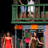 Bob Raines--Digital First Media<br /> After they have spent the night together Nina (Jayna Lashe) and Benny (Preston Hill) talk about their relationship while below Carla, Daniela, Vanessa and Sonny shuffle through the debris of Usnavi's vandalized bodega.