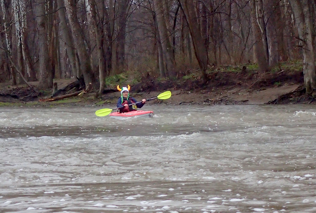 . Jonathan Tressler � The News-Herald <br> A scene from the Grand River Canoe & Kayak Race on April 28.