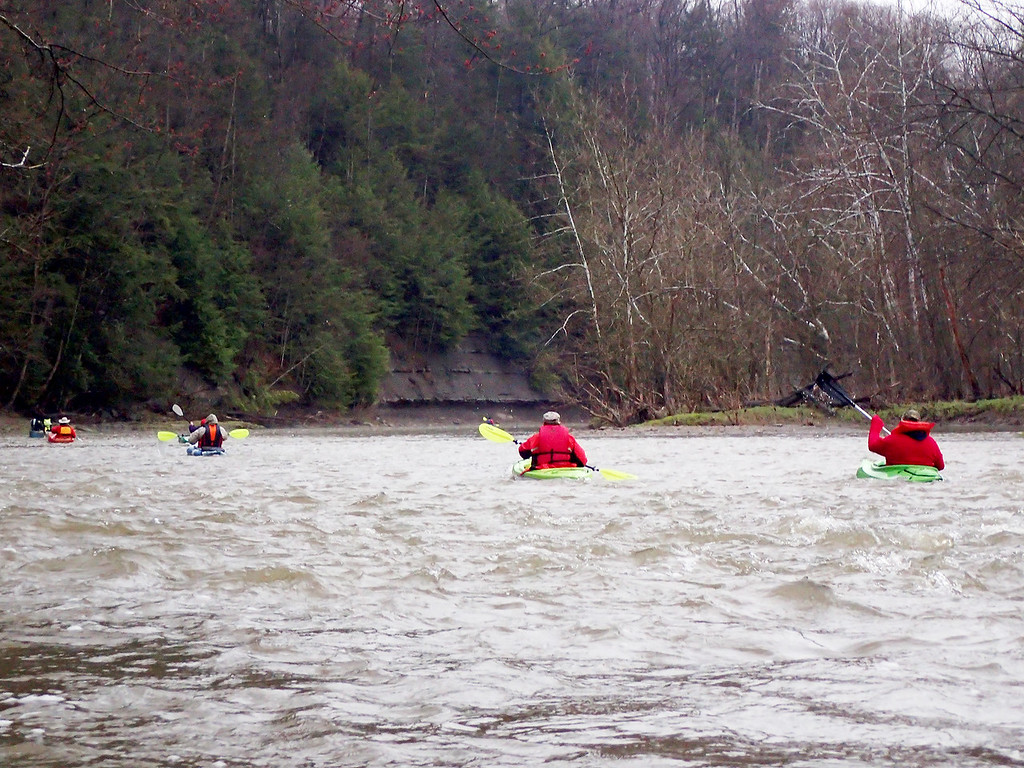 . Jonathan Tressler � The News-Herald <br>A scene from the Grand River Canoe & Kayak Race on April 28.