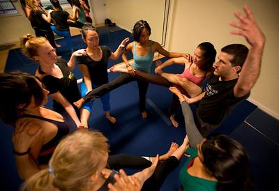Acro-Yoga in Emeryville