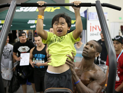 Fit Expo brings body builders to San Jose