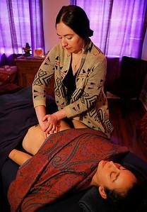 Mayan Abdominal massage, Laura Brown