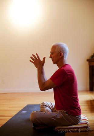 The men's yoga movement.