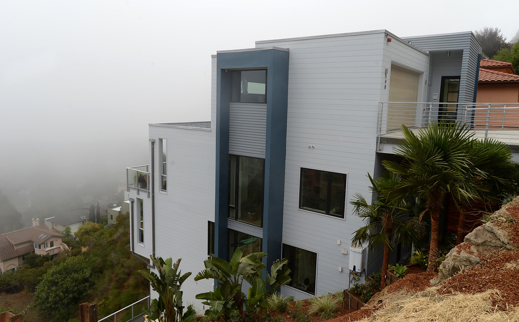 . This Sunset\'s 2016 Idea House can be found perched on a hillside in Berkeley, Calif., on Monday, Aug 22, 2016.  (Susan Tripp Pollard/Bay Area News Group)