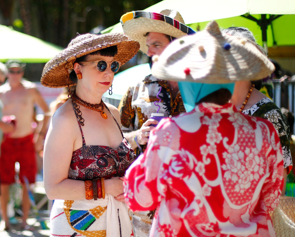 """. 16th Annual Tiki Oasis \"""" Part On Monster Island\"""", at the Crown Plaza, formerly the Hanalei Hotel in San Diego , Calif., on Saturday, August 20, 2016. (Josie Lepe/Bay Area News Group)"""