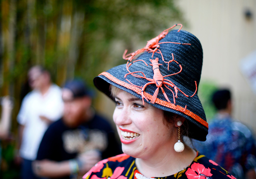 """. Vanessa Kunkel, of Sunnyvale, is photographed at the 16th Annual Tiki Oasis \""""Party on Monster Island\"""", at the Crown Plaza, formerly the Hanalei Hotel in San Diego, Calif., on Friday, August 19, 2016. (Josie Lepe/Bay Area News Group)"""