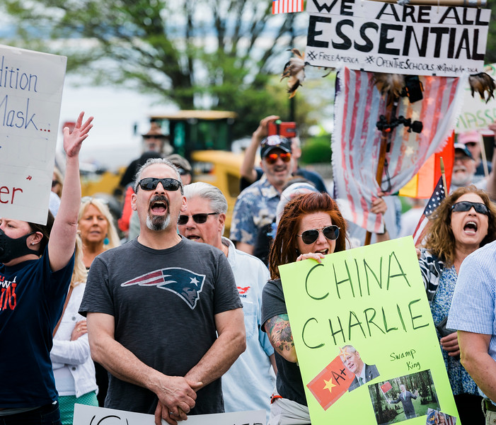 5 16 20 Swampscott shutdown protest 20