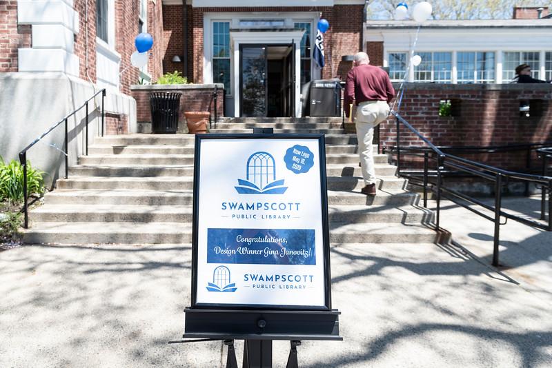 5 18 19 Swampscott Library logo unveiling 9