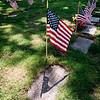 5 21 20 Swampscott Cemetery Memorial Day flags