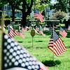 5 21 20 Swampscott Cemetery Memorial Day flags 4