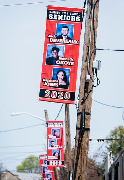 4 29 20 Saugus senior banners 2