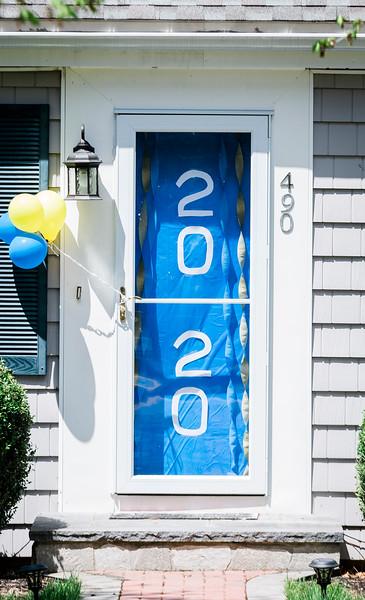 5 9 20 Lynnfield senior door decorations 8