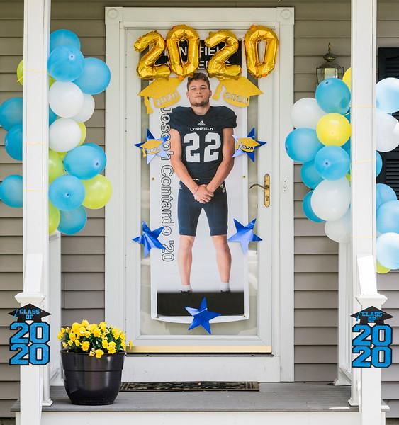 5 9 20 Lynnfield senior door decorations 2