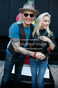 Matt Sorum and Cherie Currie
