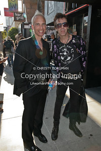 West Hollywood Mayor, John Heilman with Slim Jim Phantom