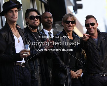 Jane's Addiction's Hollywood Walk of Fame star ceremony