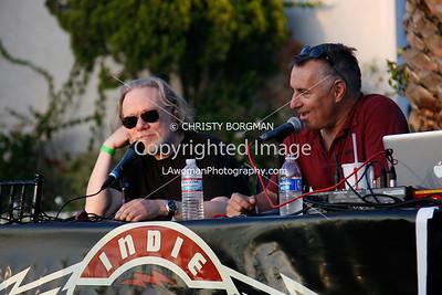 Tommy Ramone and Joe Escalante