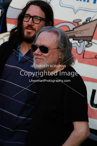 John Frusciante and Tommy Ramone