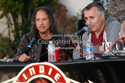 Kirk Hammett and Joe Escalante