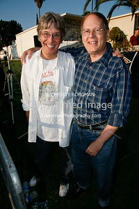 Richard Whitley and Russ Dvonch, writers of Rock N Roll High School