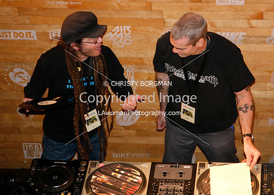 Keith Morris and Henry Rollins