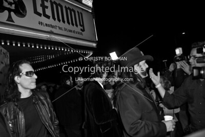 Lemmy and Steve Vai