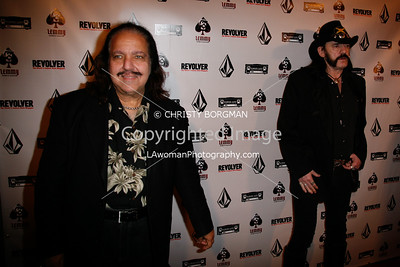 Lemmy and Ron Jeremy