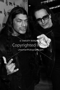 Robert Trujillo and Steve Vai