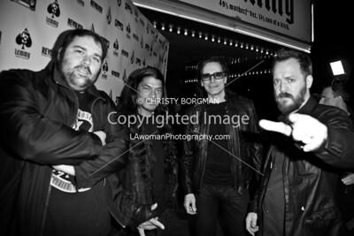 Wes Orshoski, Robert Trujillo, Steve Vai and Greg Olliver