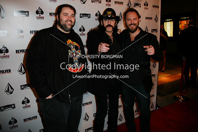 Wes Orshoski, Lemmy and Greg Olliver