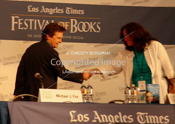 Michael J. Fox - LA Times Festival of Books
