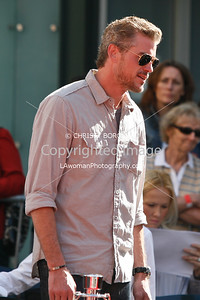 Eric Dane attends Mickey Rourke's Hand and Footprint Ceremony at Grauman's Chinese Theatre