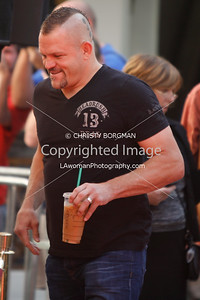 Chuck Liddell attends Mickey Rourke's Hand and Footprint Ceremony at Grauman's Chinese Theatre