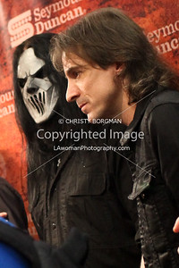 Number Seven (Mick Thomson) and Warren DeMartini