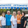 JOED VIERA/STAFF PHOTOGRAPHER-Barker, NY-Lighthouse Optimists Holly Ward, Frank stabler, Julie Obermiller, Peter Stutz and Grace Destino pose for a photo.