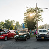 JOED VIERA/STAFF PHOTOGRAPHER-Lockport, NY-Classic Cars line the streets  during Cruise night at Ida Fritz Park on Monday, August, 25th.