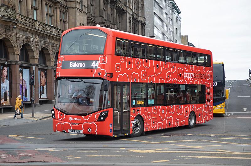 551 SA15VUB, Edinburgh 5/3/2021