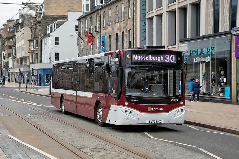 85 SJ70HNX, Edinburgh 5/3/2021